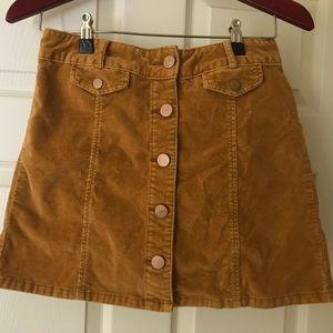 Corturoy BDG skirt